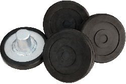 Dannmar round lift pads for two-post lifts