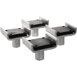 Dannmar two-post lift frame cradle pads set