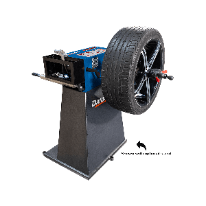 MB-240X manual wheel balancer with optional stand
