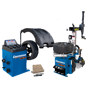 Dannmar DT-50 tire changer and DB-70 wheel balancer package deal